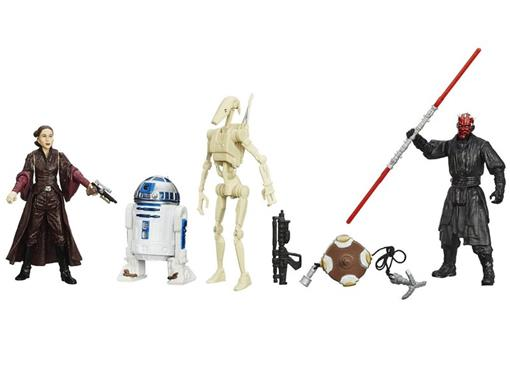 Pack c/ 4 Figuras - Star Wars Episode I