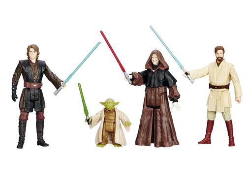 Pack c/ 4 Figuras - Star Wars Episode III