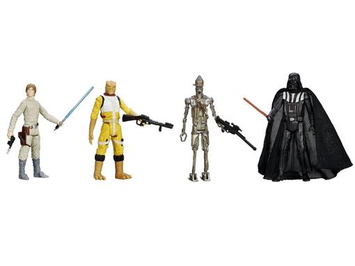 Pack c/ 4 Figuras - Star Wars Episode V