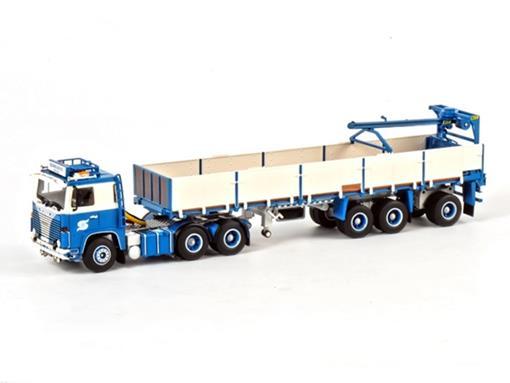 Scania: 111/141 6x2 - Classic Stenentrailer - 3 eixos - 1:50