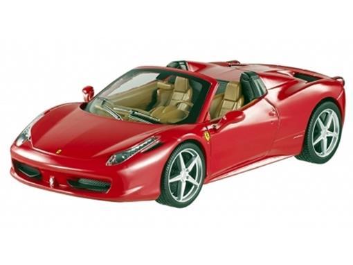 Ferrari: 458 Spider - Vermelha - 1:24