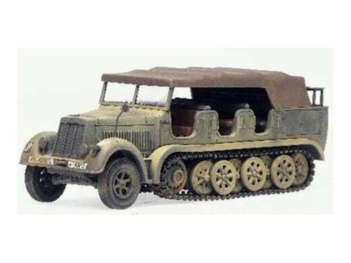 German Army: 12th - SdKfz 7 - Krauss-Maffei SemiTrack (França 1940) - 1:50