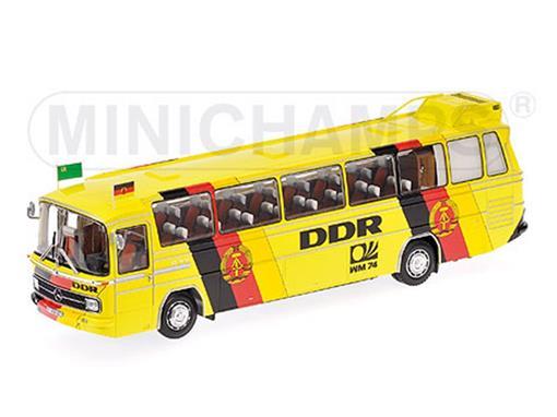 Mercedes Benz: O 302 - Team DDR Germany -  World Cup 1974 - 1:43