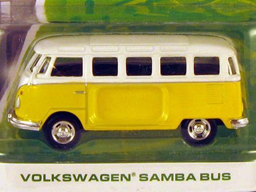 Volkswagen: Samba Bus / Kombi - Motor World - 1:64