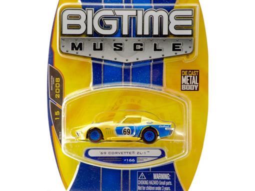 Chevrolet: Corvette ZL-1 - Bigtime Muscle (1969) - 1:64