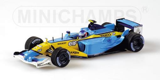 Renault: F1 Team R23 - J.Trulli (2003) - 1:43