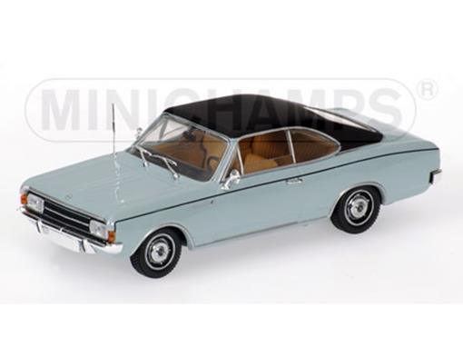 Opel: Rekord C Coupé (1966) - Azul - 1:43