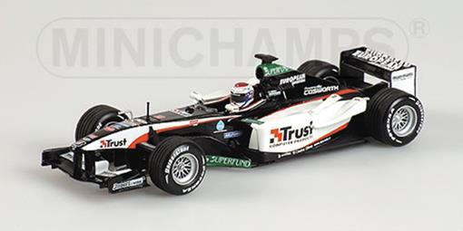 European Minardi: Cosworth PS04 - J. Verstappen (Test Mugello, 2003) - 1:43