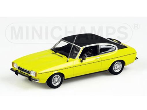 Ford: Capri II (1974) - Amarelo - 1:43