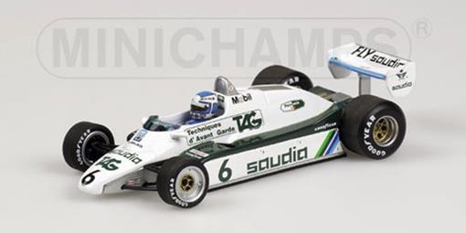 Williams F1: FW08 - K. Rosberg (1982) - 1:43