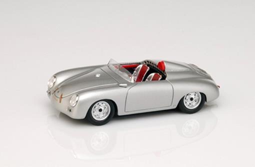 Porsche: 356 Speedster America - Prata - 1:43