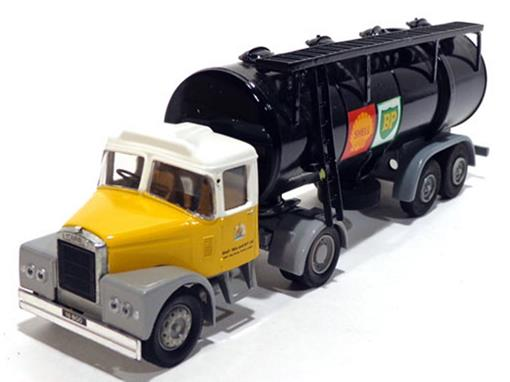 Scammell: Highwayman - Tanker Shell MEX/BP - 1:50