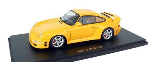 Porsche: Ruf CTR 2 - 1997 - Amarelo -  1:43