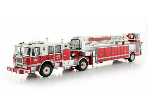 Seagrave: Tractor Drawn Aerial - Bombeiros - New London - 1:50
