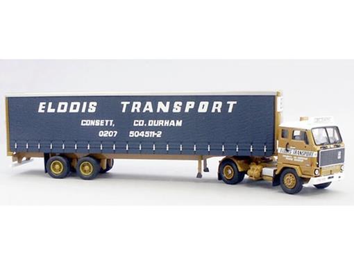 Volvo: F88 Tautliner - Elddis Transport Ltd Consett - 1:50