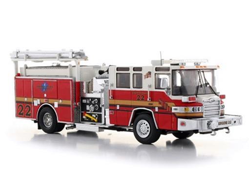 Pierce: Quantum Pumper - Bombeiros - Seminole County Fire - 1:50