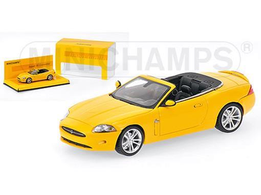 Jaguar: XK - Conversível (2005) - Amarelo - 1:43