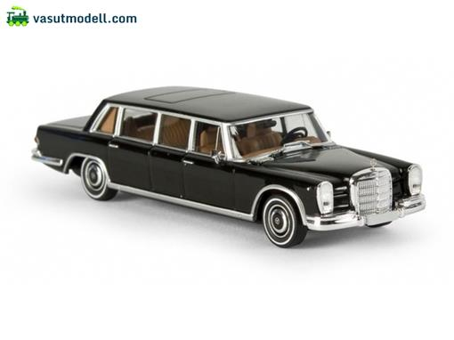 Mercedes Benz: 600 Pullman Limousine (w100) - Preto - HO