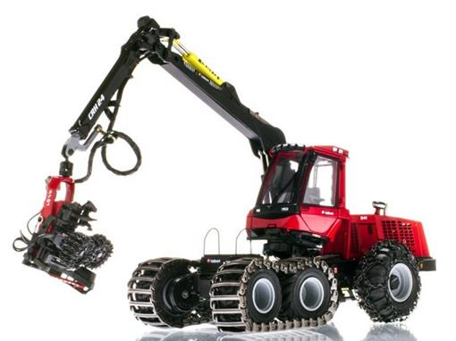 Valmet: Trator 941 Harvester With Valmet 370.2 Harvesting Head - 1:50