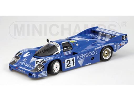 Porsche: 956 L - Andretti / Alliot - Kenwood - 24 H Le Mans #21 - (1983) - 1:18