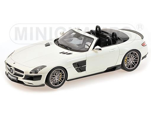 Mercedes Benz: SLS Brabus 700 Biturbo - Roadster (2013) - 1:18