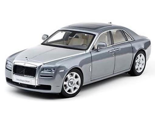 Rolls Royce: Ghost - Jubilee Silver - 1:18