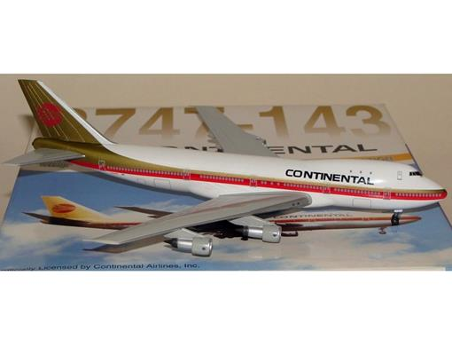 Continental Airlines: Boeing 747-143 - 1:400