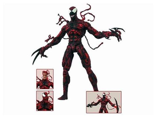 Boneco Carnage / Carnificina - Marvel Select