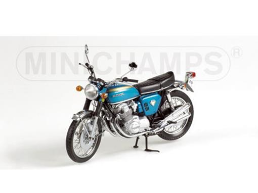 Honda: CB 750 (1968) - Azul - 1:12