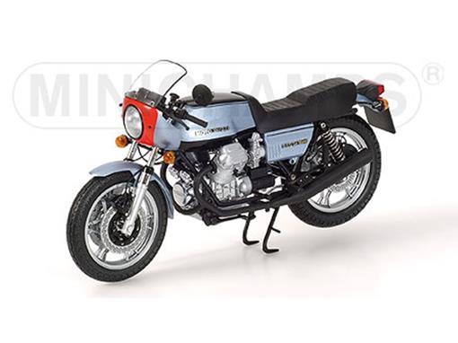 Moto Guzzi: 850 MKI - Le Mans (1976) - Prata / Azul - 1:12