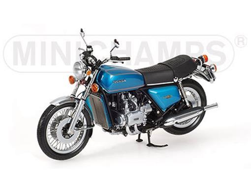 Honda: Gold Wing (1975) - Azul - 1:12