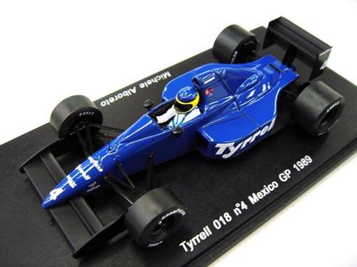 Tyrrell: 018 - Michele Alboreto #4 - Mexico GP (1989) - 1:43