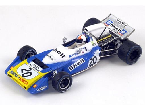 Matra: MS120B - Chris Amon #20 - French GP (1971) - 1:43