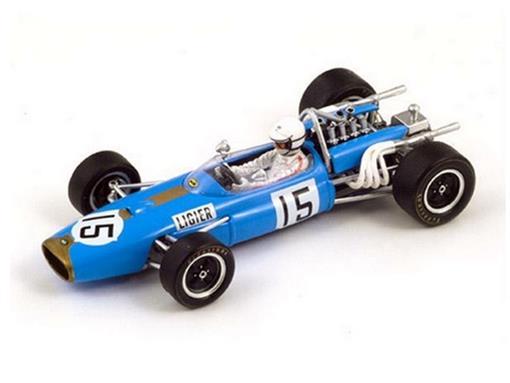Brabham: BT20 #15 - Guy Ligier - German GP 1967 - 1:43