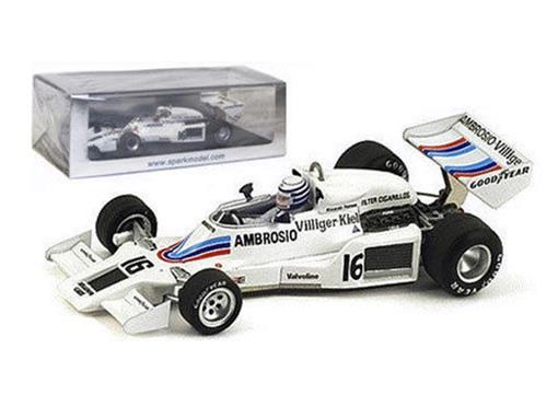 Shadow: DN8 - Riccardo Patrese #16 - Japanese GP (1977) - 1:43