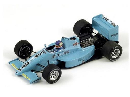 Leyton House: March 871 #16 - Ivan Capelli - Monaco GP 1987 - 1:43
