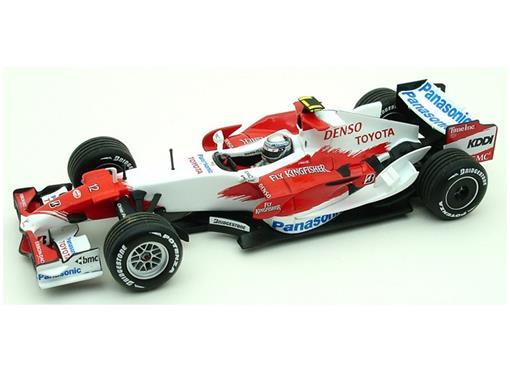 Panasonic Toyota Racing: TF 107 - J.Trulli (2007) - 1:43