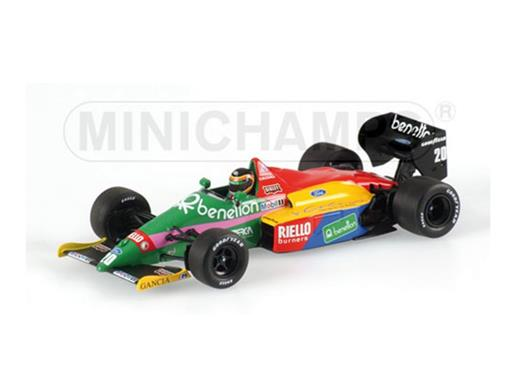 Benetton: Ford B187 - T. Boutsen (1987) - 1:43