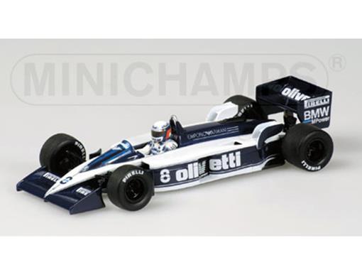 Brabham BMW: BT55 - Elio de Angelis (1986) - 1:43