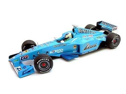 Benetton: Playlife Showcar - G. Fisichella (2000) - 1:43