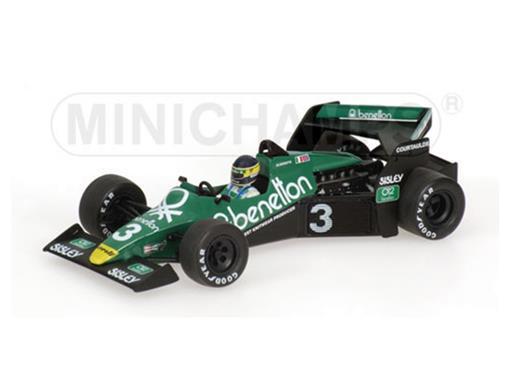 Tyrrell: Ford 012 - M. Alboreto - Practice Austria GP (1983) - 1:43