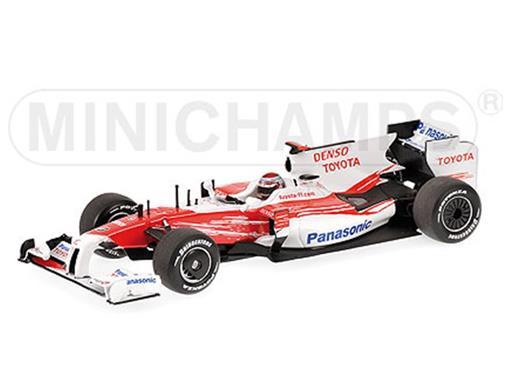 Panasonic Toyota Racing: TF 109 - J. Trulli - Australian GP (2009) - 1:43