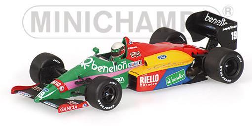 Benetton: Ford B187 - T. Fabi (1987) - 1:43