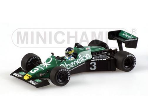 Tyrrell: Ford 012 - M. Alboreto - Dutch GP (1983) - 1:43