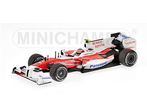 Panasonic Toyota Racing: TF 109 - T. Glock - Australian GP (2009) - 1:43