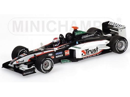 European Minardi: F1X2 - J. Verstappen - Rockingham (2003) - 1:43