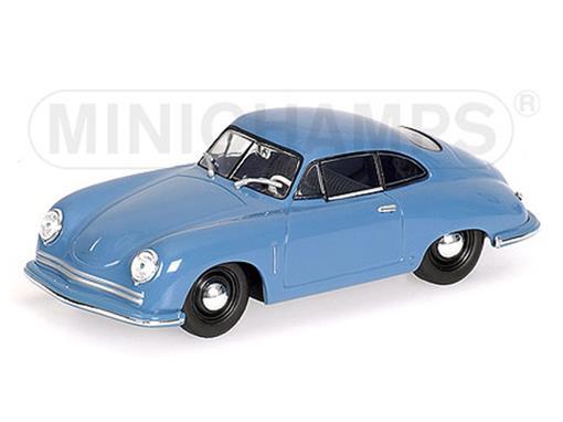 Porsche: 356 Coupé Gmund (1949) - Azul - 1:43