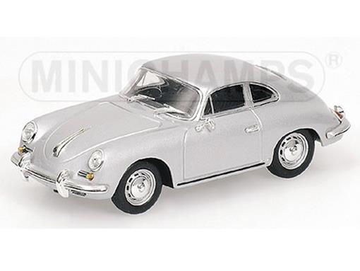 Porsche: 356 B Coupé (1961) - Prata - 1:43