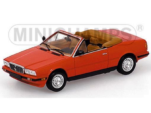 Maserati: Biturbo Spyder (1986) - Vermelho - 1:43