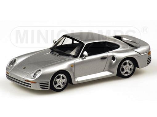 Porsche: 959 (1987) - Prata - 1:43